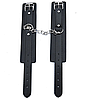 Черный кожаный БДСМ набор Госпожи для садо-мазо 7 предметов. Фетиш. классное качество, фото 3