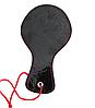 Черный кожаный БДСМ набор Госпожи для садо-мазо 7 предметов. Фетиш. классное качество, фото 5
