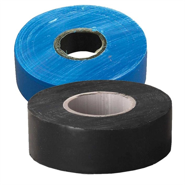 Ізолента TECHNICS ПХВ синя/чорна 19 мм 20 м