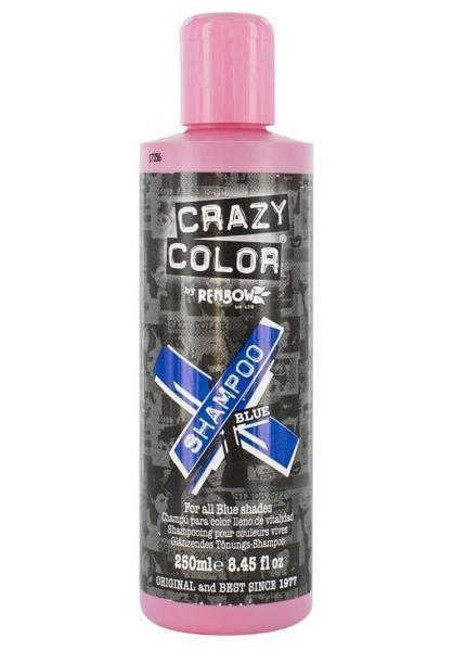 Crazy Color Vibrant Shampoo. Оттеночный безсульфатный шампунь, 250 мл.