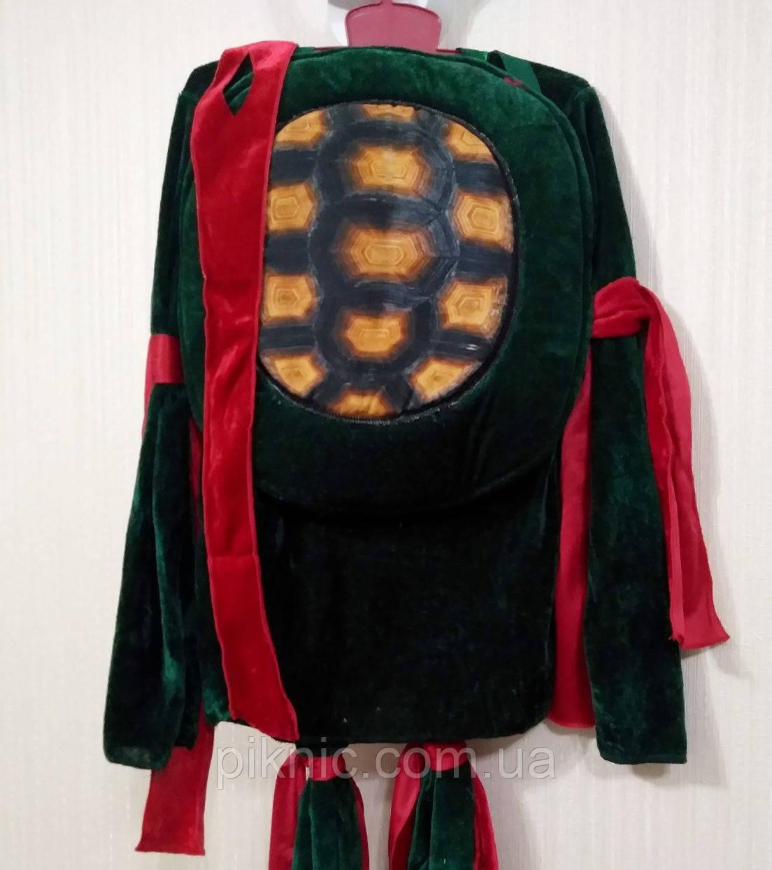 Костюм Ниндзя 7,8,9 лет. Детский новогодний костюм для мальчиков Черепашка Ниндзя 128 134 140см 344