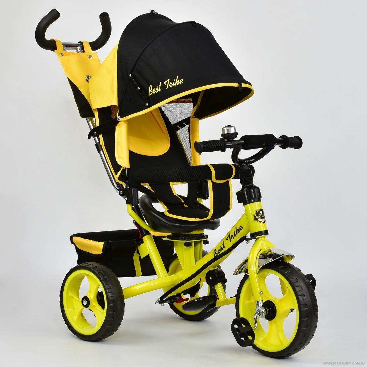 Велосипед 3-х колёс. 5700 - 4890 Best Trike (1) ПОВОРОТНОЕ СИДЕНЬЕ, КОЛЕСА EVA (ПЕНА) переднее колесо d=28см.