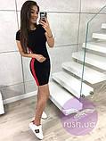 Летнее платье с лампасами, фото 2