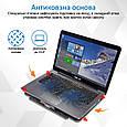 Охлаждающая подставка для ноутбука Promate AirBase-1 Black, фото 5