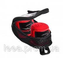 Бинти для боксу PowerPlay 3046 Червоні 4м SKL24-143769