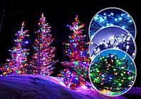 Світлодіодна гірлянда LED 300 діодів, колір мультиколор, 8 режимів, для дому та вулиці.