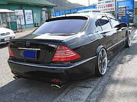 Спойлер Mercedes S-class W220