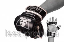 Рукавички для Mma PowerPlay Чорні S 3056 А SKL24-238251