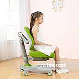 Комплект для школьника стол-трансформер Sognare Grey + ортопедическое кресло FunDesk Contento Green, фото 6