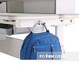 Комплект для школьника стол-трансформер Sognare Grey + ортопедическое кресло FunDesk Contento Green, фото 7