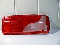Стекло фонаря заднего правое Scania с лампой (голубой)