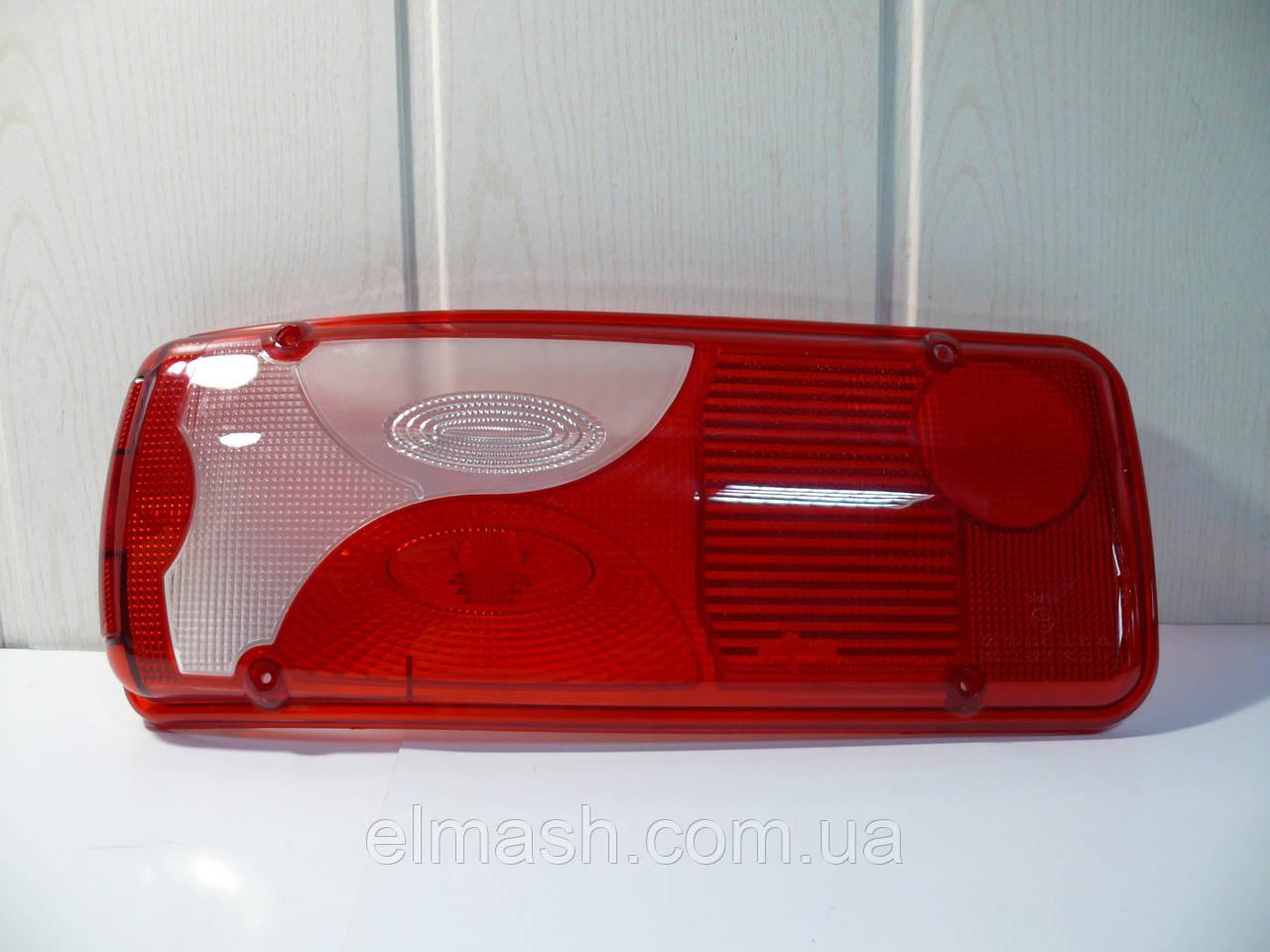 Стекло фонаря заднего левое Scania с лампой (голубой)
