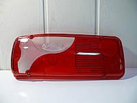 Стекло фонаря заднего левое Scania с лампой (голубой), фото 1