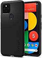Чехол Spigen для Google Pixel 5 Thin Fit, Black (ACS01894)