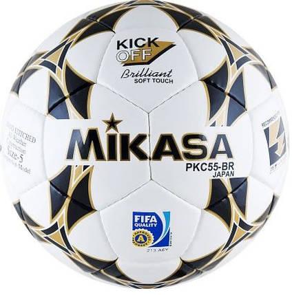 Мяч футбольный Mikasa FIFA Approved PKC55BR1 размер 5, фото 2