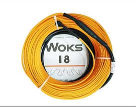 Двухжильный кабель WOKS 18 - 810 Вт, 44 метра, фото 3