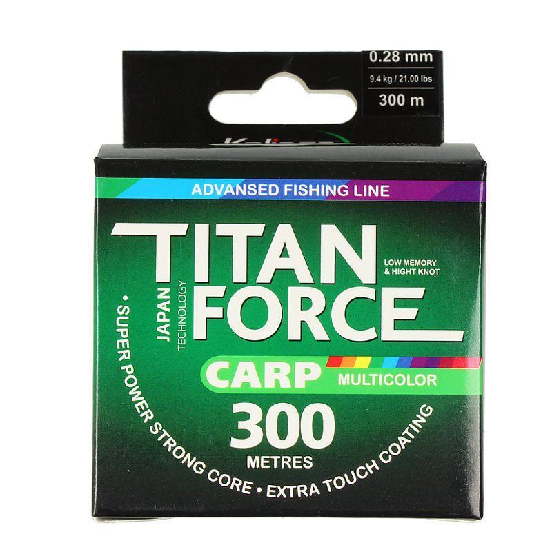 Леска Kalipso Titan Force Carp MC 300м 0.28мм(1шт)