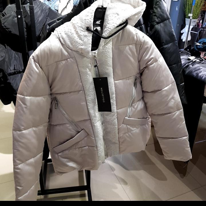 Курточки бренд Lady Yer Женский Беж 60% полиестер 35 котон 5 еластан арт.55314 M(р)