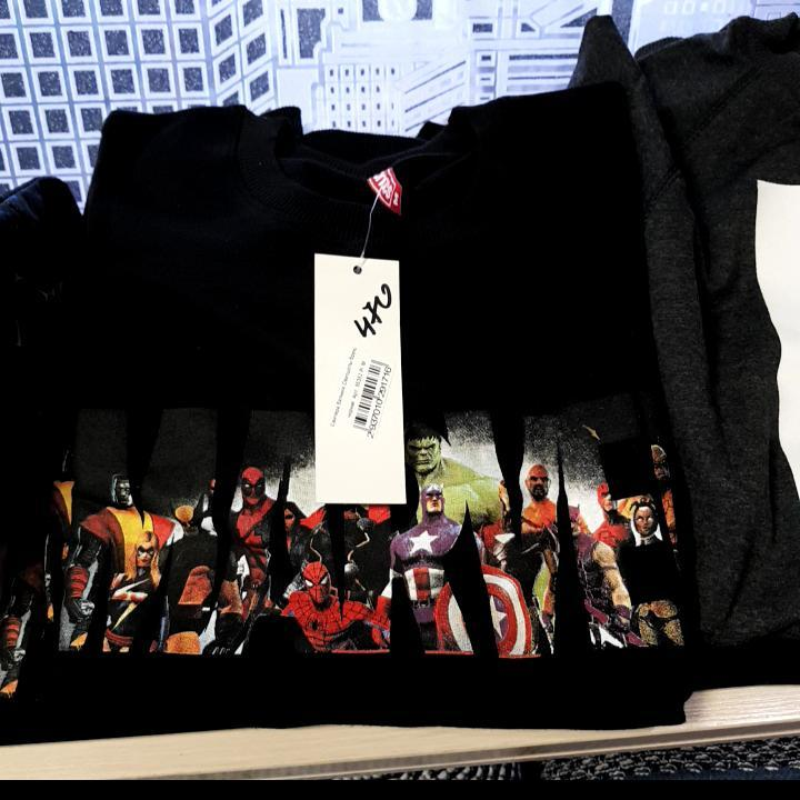 Свитера,батники Свитшоты бренд Marvei Мужской Чорний 85% коттон 15%полиэстер арт.55352 Туречина L(р)