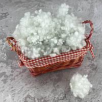 Холлофайбер 4 кг универсальный наполнитель для одеял, подушек, мягких игрушек (шарики) белый T-55111