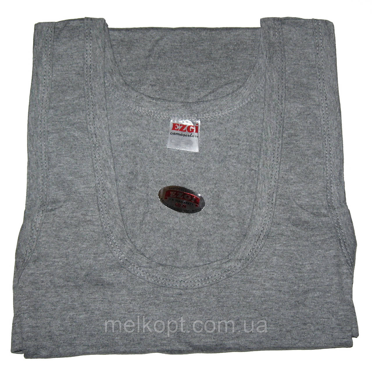 Мужские майки Ezgi - 37,00 грн./шт. (54-й размер, серые)