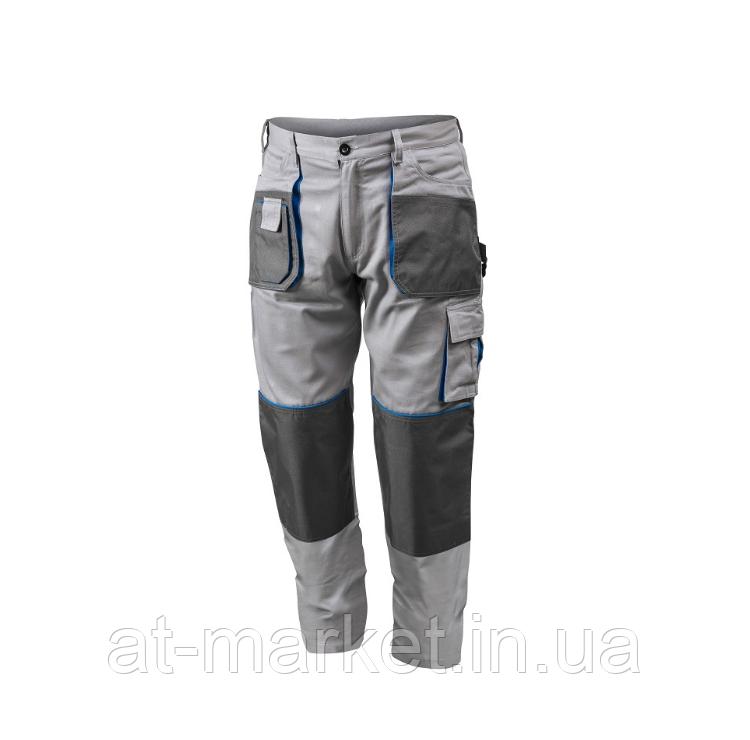 Рабочие брюки серые, размер M HOEGERT HT5K277-M