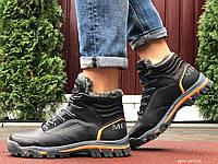 Мужские зимние ботинки на меху Merrell чёрные
