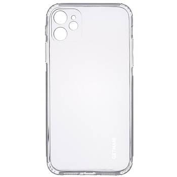 "TPU чехол GETMAN Clear 1,0 mm для Apple iPhone 12 mini (5.4"")"