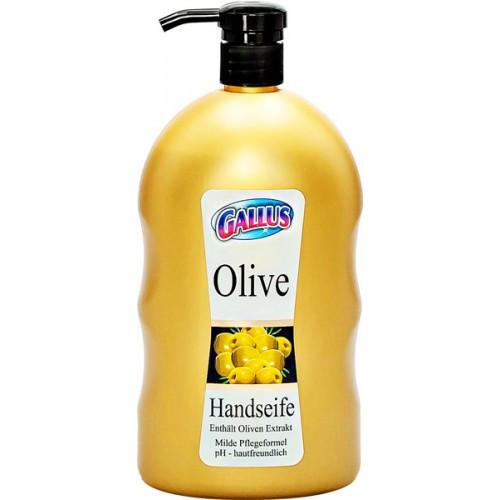 Жидкое крем-мыло Gallus оливки 1л