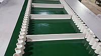 Лента конвейерная ПВХ с планками и гофробртом