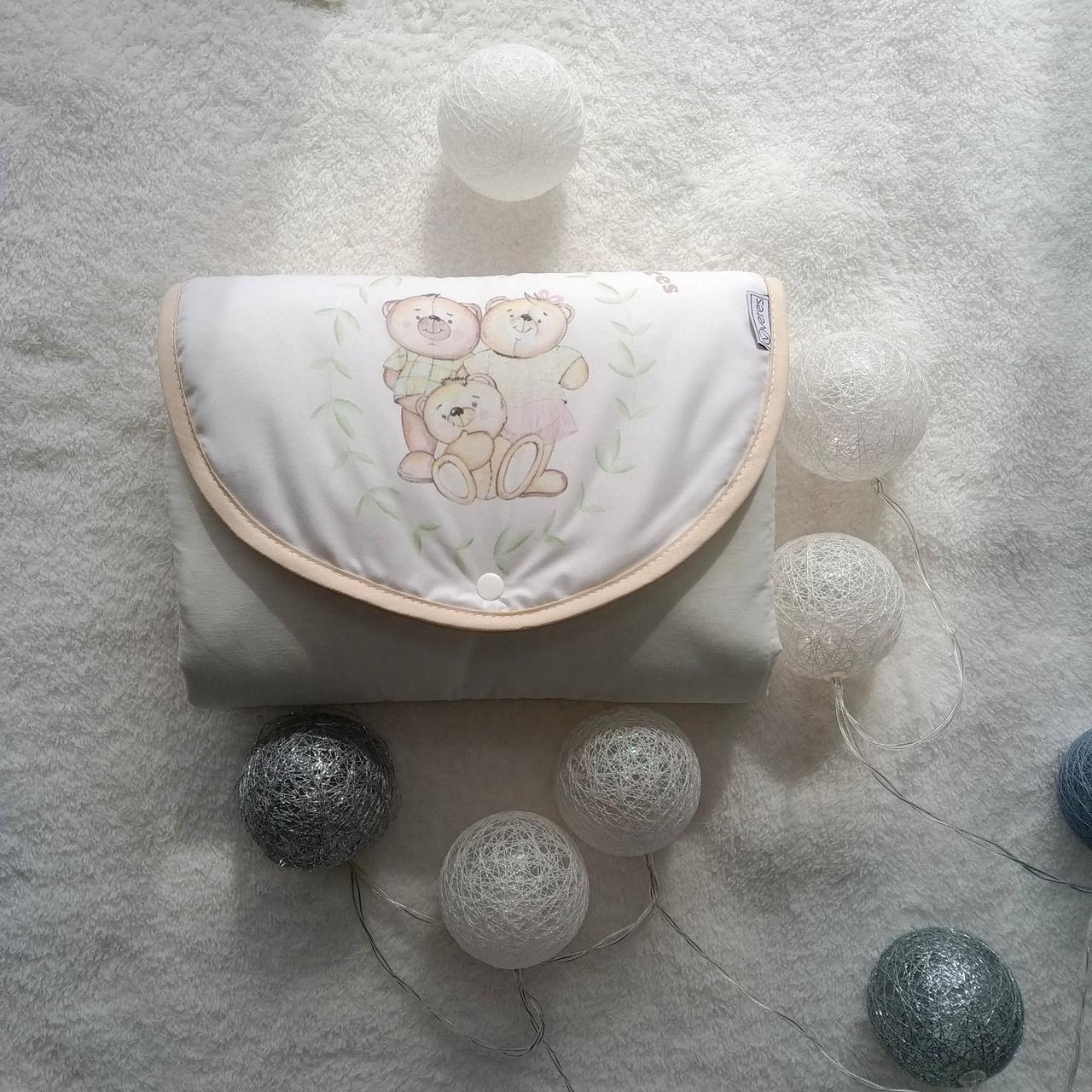 Дорожный пеленальный матрас для новорожденных  Baby Veres  Nice Family
