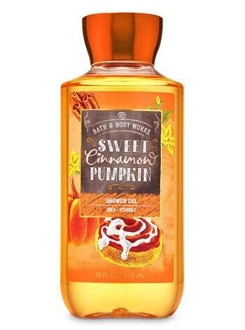 Увлажняющий гель для душа Bath and Body Works - Sweet Cinnamon Pumpkin