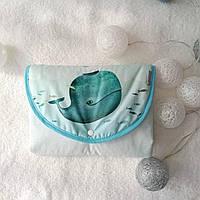 Baby Veres Menthol whale Дорожный пеленальный матрас для новорожденных, фото 1