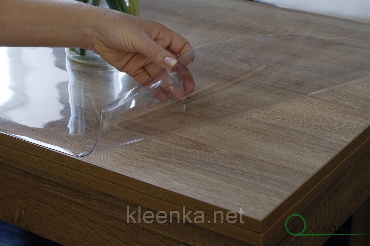 Прозрачное покрытие, м'яке скло для захисту дерев'яних та скляних поверхонь