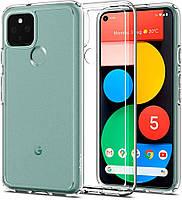 Чехол Spigen для Google Pixel 5 - Ultra Hybrid, Crystal Clear (ACS01897)