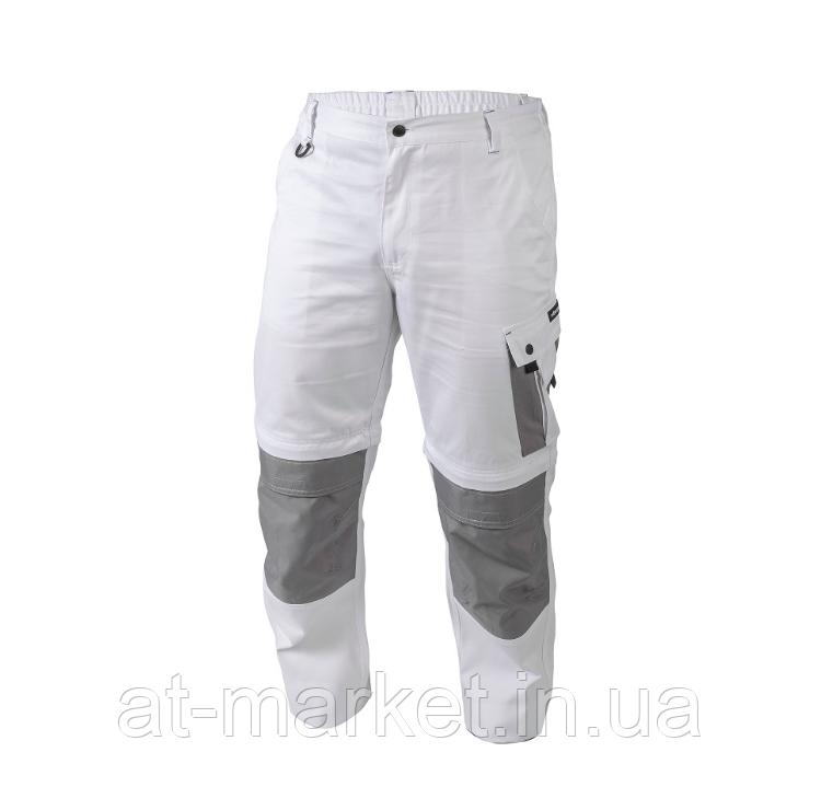 Рабочие штаны белые M HOEGERT SALM HT5K363-M