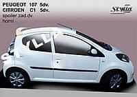 Спойлер Peugeot 107