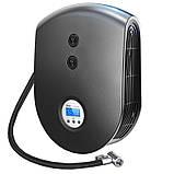 Автомобильный компрессор YANTU E26 Black с LED экраном и фонариком, фото 2