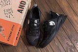 Чоловічі шкіряні кросівки чорні Pitbull, фото 3