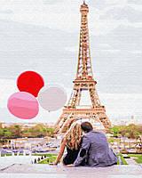 """Картина по номерам. Brushme """"Парижская любовь"""" GX4886 , картины"""