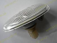 Повторитель поворота на крыло белый с лампой Ланос Сенс Lanos Sens 96269116\96303241, фото 1