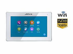 WiFi Touch Screen Full HD 1080P Видеодомофон с записью видео по-движению Jarvis JS-10TS FullHD WiFi