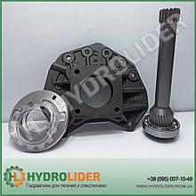 ВОМ вал Mercedes Actros / Axor (250 мм) + плита HYVA 21307002