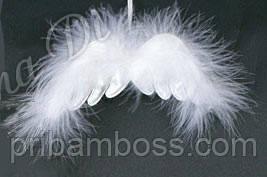 Елочное украшение Крылья ангела,  2 шт.