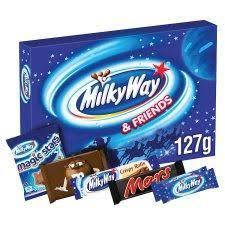 Milky Way And Friends Medium Selection Box 127G, фото 2