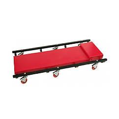 Лежак Автослесарный Подкатной(930x440х105 мм)6 Колес VOREL 81820