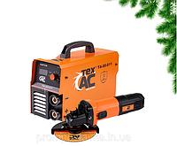 Набор: Сварочный аппарат TexAC ТА-00-011 + УШМ ТехАС ТА-01-431