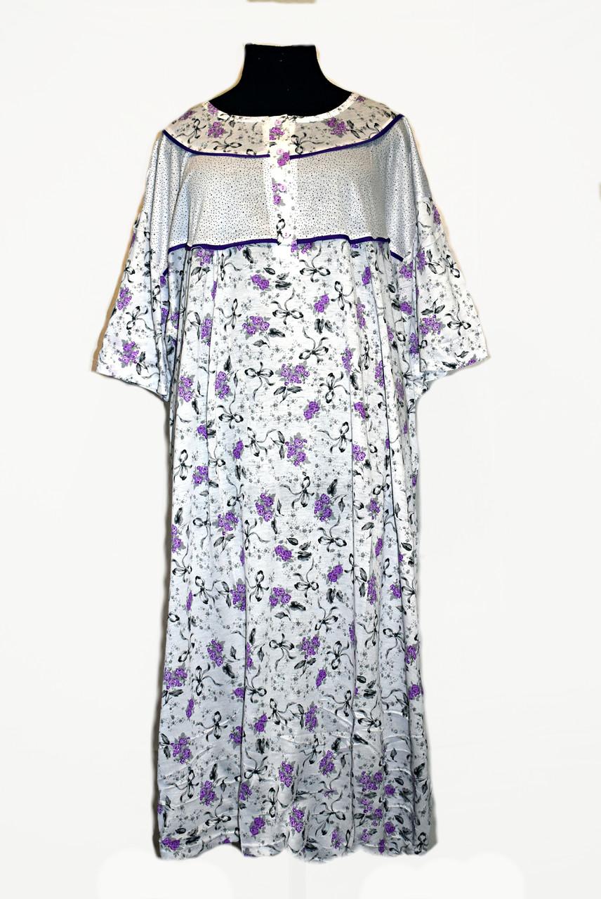 Ночная рубашка женская большие размеры от 66 до 76