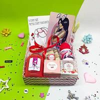 Подарочный набор «Sexy Bunny» новогодний. Коробка подарок для девушки