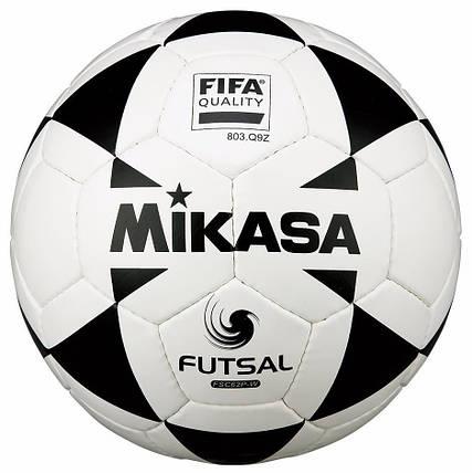 Футзальный мяч Mikasa FSC62P-W FIFA QUALITY размер №4, фото 2